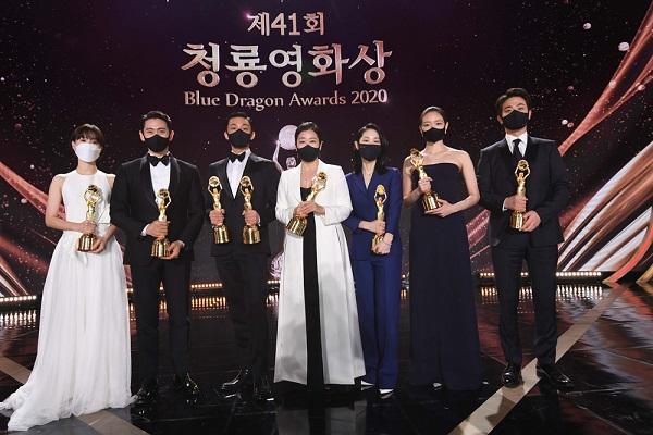 박정민 고 박지선 추모 '→ 라미 란,'정직한 후보 2 '언급 … 청룡 영화상
